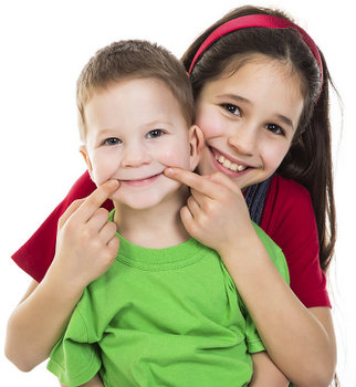 Children smiling with Sealants at Timothy H. Kindt, DDS.